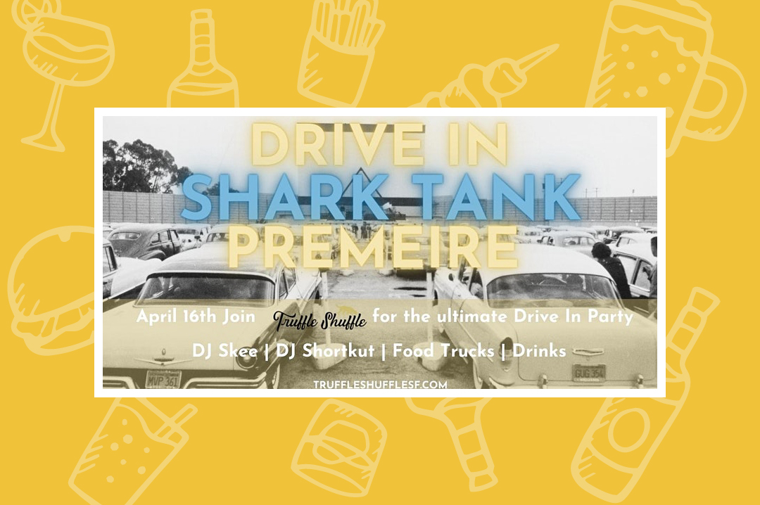 Truffle_Shuffle_Drive-Up_Shark_Tank_Viewing_Party_with_DJ_Skee