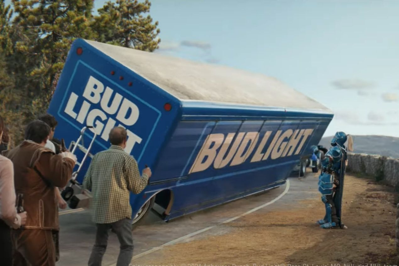 Photo for: Beer Commercials That Lit up Super Bowl LV