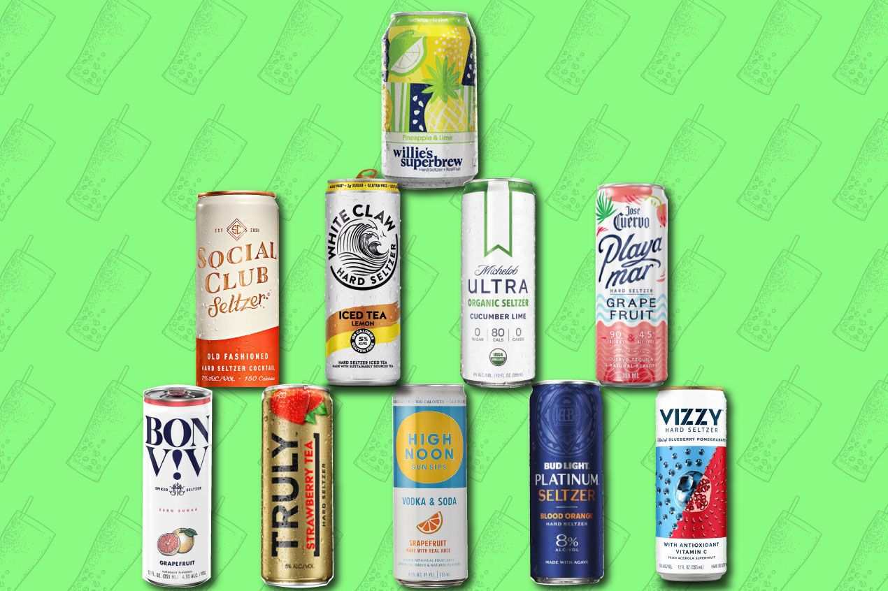 Photo for: The Most Refreshing Spiked Seltzers for Summer