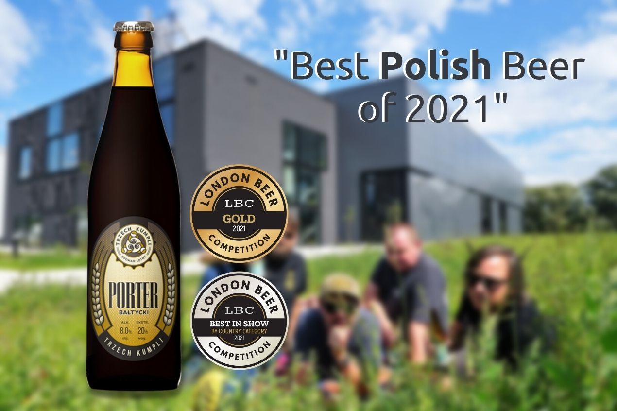 Photo for: Best Polish Beer at the London Beer Competition