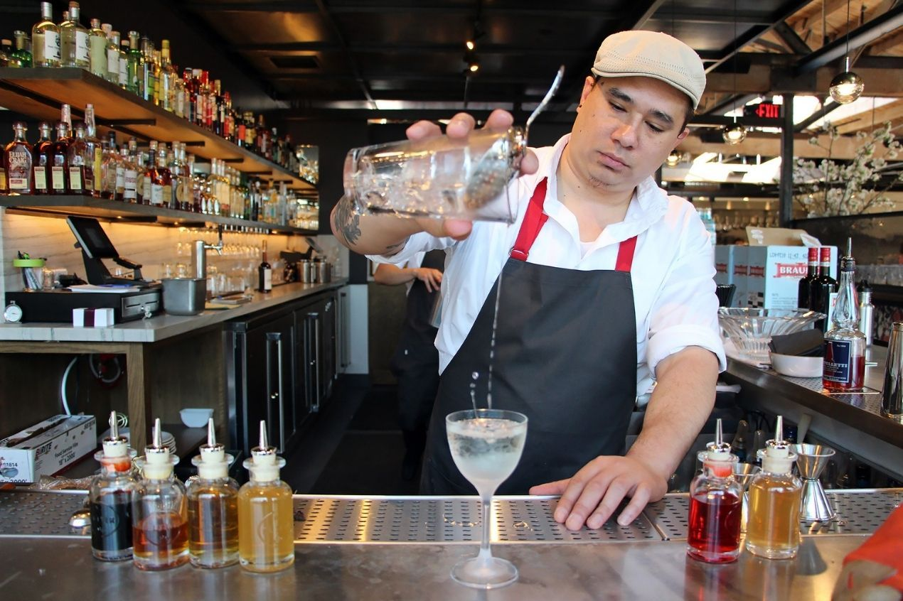 Photo for: Shake up a French 75 with Christopher Longoria