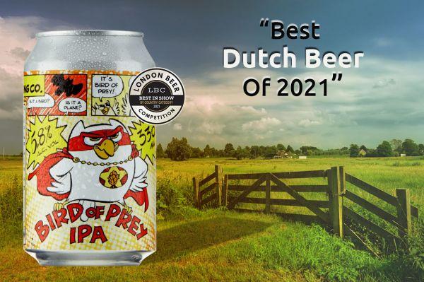 Photo for: Bird of Prey IPA is the Best Dutch Beer