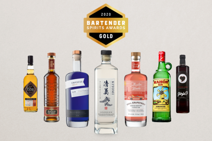 Photo for: Gold-Winning Spirits of 2020