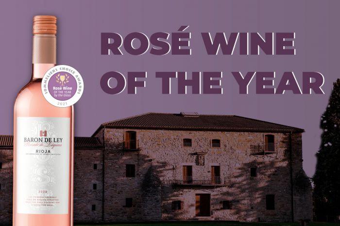 Photo for: Baron De Ley Rioja Rosado won Rosé of the Year