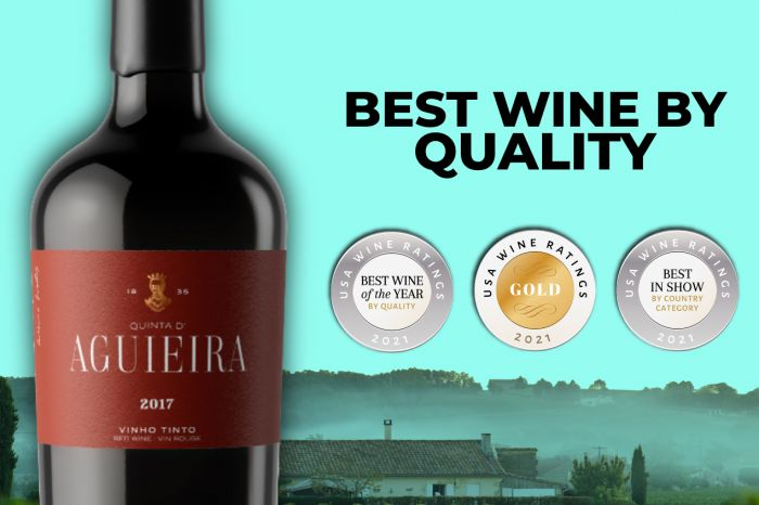 Photo for: Drum roll for the Best Wine by Quality