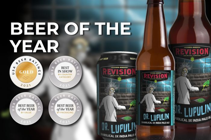 Photo for: Dr. Lupulin steals the show at 2021 USA Beer Ratings